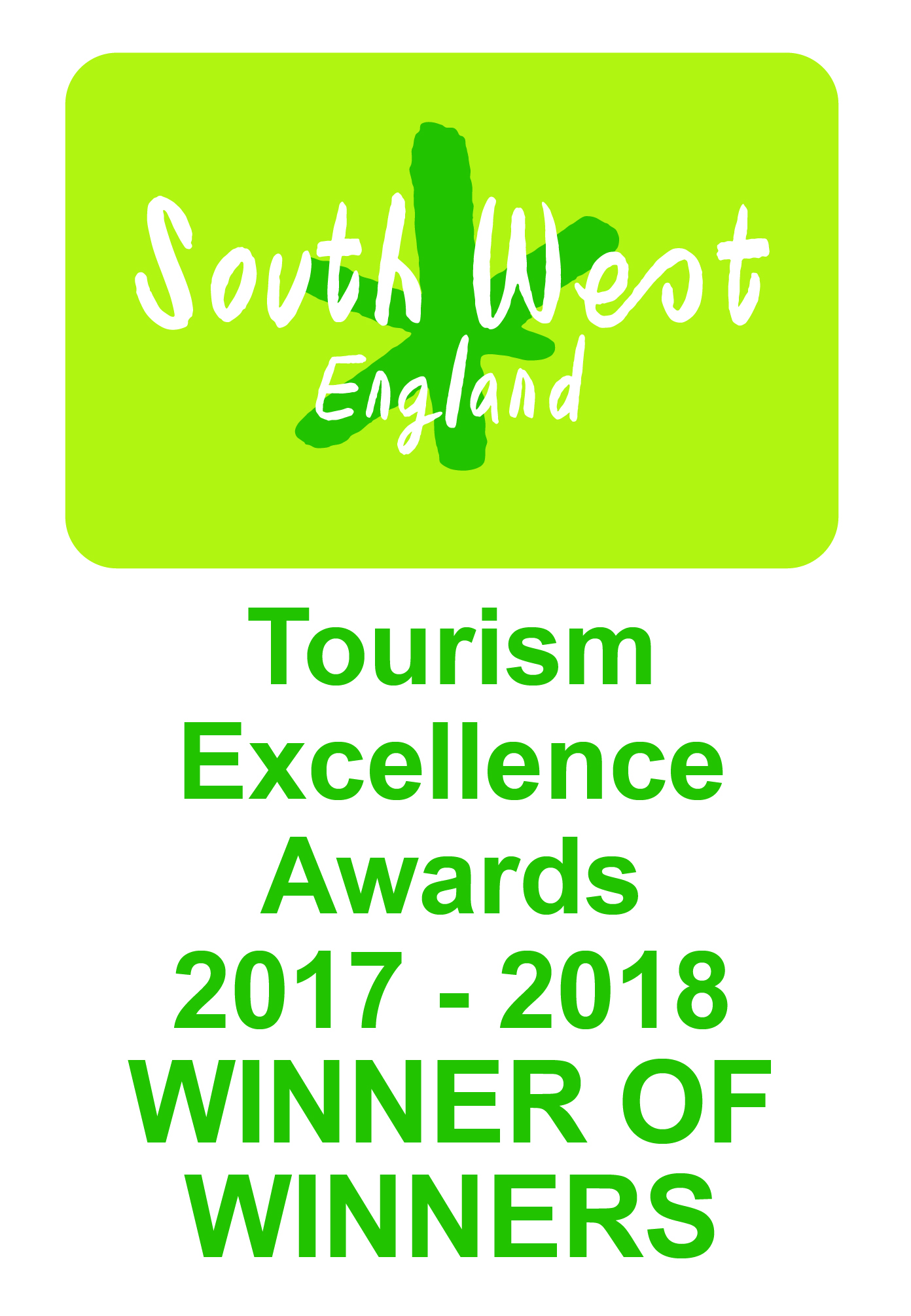 South West  Tourism Award Winner of Winners